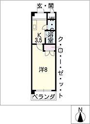 エトアール社口[2階]の間取り