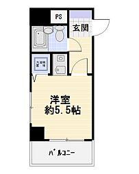 日神パレステージ藤沢[401号室]の間取り