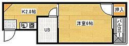 GRADO宇品ウノ[3階]の間取り