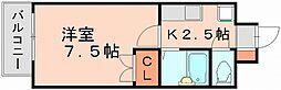 リファレンス美野島[3階]の間取り
