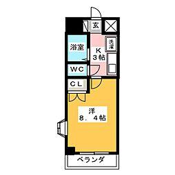 シティライフ打越[2階]の間取り