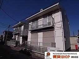 千葉県船橋市習志野4丁目の賃貸アパートの外観