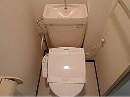 カサベルデUのトイレ