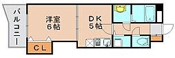ホークシティ駅南[3階]の間取り