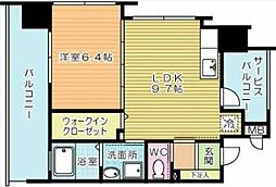 フェルト127[8階]の間取り