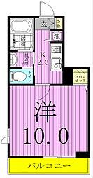 shu shu cinque[2階]の間取り