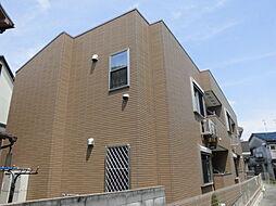 大阪府豊中市服部西町3丁目の賃貸アパートの外観