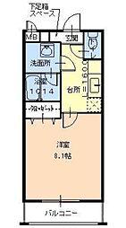 フジパレス浜寺サウスIII番館[1階]の間取り