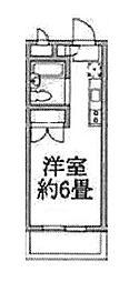 ラジオン連光寺[206号室]の間取り
