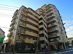 東京都足立区鹿浜7丁目の賃貸マンションの外観