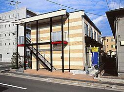 神奈川県大和市渋谷8丁目の賃貸アパートの外観