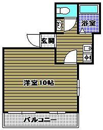 大同Fビル[3階]の間取り
