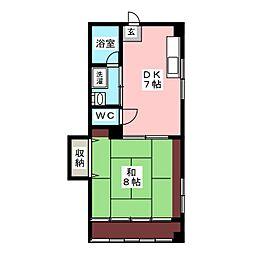 ひまわりビル[2階]の間取り