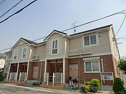 大阪府八尾市恩智中町2丁目の賃貸アパートの外観