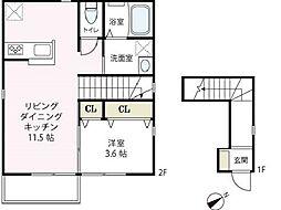 [タウンハウス] 神奈川県横浜市西区戸部町2丁目 の賃貸【神奈川県 / 横浜市西区】の間取り