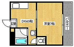 昌和鳳[106号室]の間取り