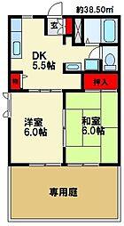 ミニヨン98[1階]の間取り