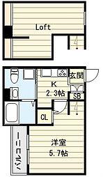 [一戸建] 大阪府大阪市生野区田島6 の賃貸【/】の間取り