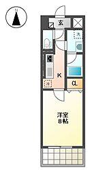 グランメゾン黒川[7階]の間取り