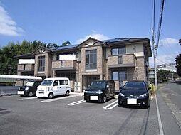 静岡県沼津市岡一色の賃貸アパートの外観