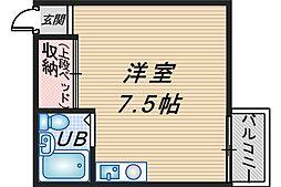 SAMSBOX90[4C号室]の間取り