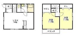 [一戸建] 三重県津市白塚町 の賃貸【/】の間取り