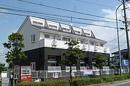 福岡県古賀市千鳥6丁目の賃貸アパートの外観
