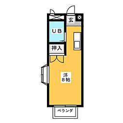 エステートピア浅井III[2階]の間取り