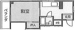 東京都町田市原町田4の賃貸マンションの間取り