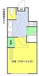 ソルフィー高島平[103号室]の間取り