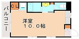 別府ハーレクイン[2階]の間取り