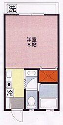 ドルフモミート[2階]の間取り