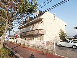 和歌山県岩出市溝川の賃貸アパートの外観