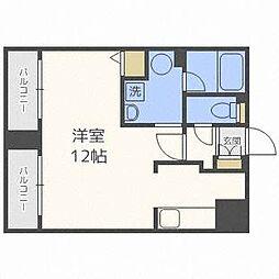 北海道札幌市西区宮の沢一条3丁目の賃貸マンションの間取り