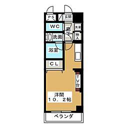 ノヴェル新栄[8階]の間取り