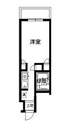 神奈川県相模原市南区上鶴間1丁目の賃貸マンションの間取り