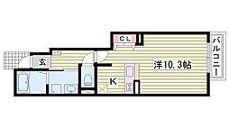 英賀保駅 4.3万円