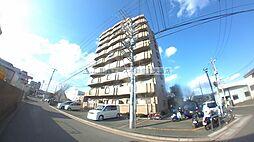 大阪府東大阪市角田1丁目の賃貸マンションの外観