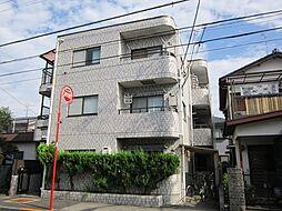 東京都府中市白糸台2丁目の賃貸マンションの外観