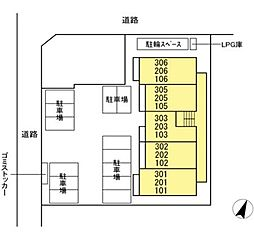 DL仮)D-ROOM石川 [新築D-ROOM・ネット無料][2階]の間取り