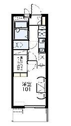 ルミナスハイム[1階]の間取り