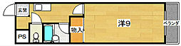 プライムコート[5階]の間取り