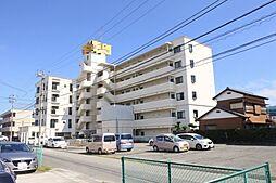 千葉県東金市東上宿の賃貸マンションの外観