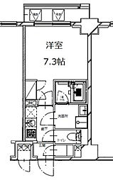 S-RESIDENCE月島(エスレジデンス月島)[4階]の間取り
