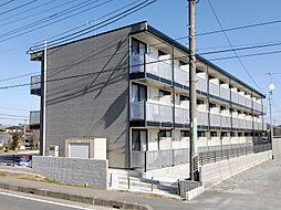 埼玉県東松山市大字西本宿の賃貸マンションの外観