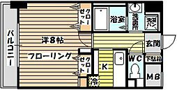 ノーム豊新II[503号室]の間取り