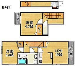 グランツ サータァ[2階]の間取り