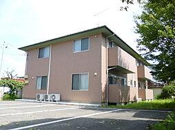 福島県福島市瀬上町字町裏の賃貸アパートの外観
