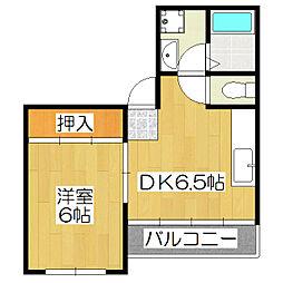 メゾン松永[2階]の間取り