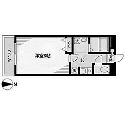 コスモ新百合ヶ丘2[2階]の間取り
